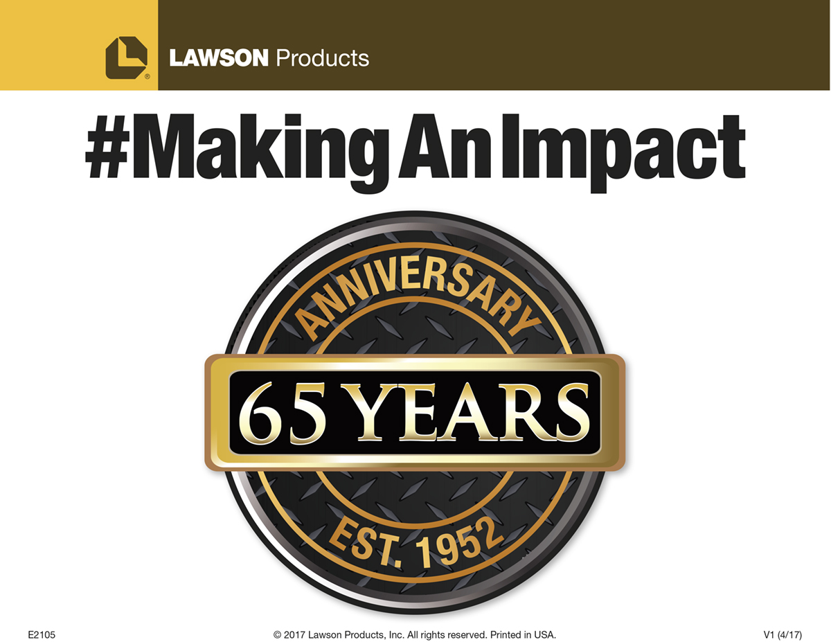 Making An Impact Selfie Social Media Campaign Lawson Products Kent Automotive