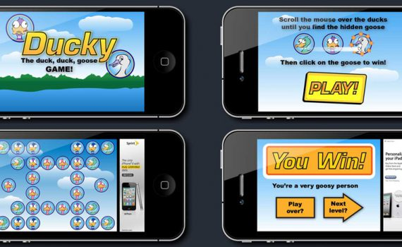Ducky Mobile App Game