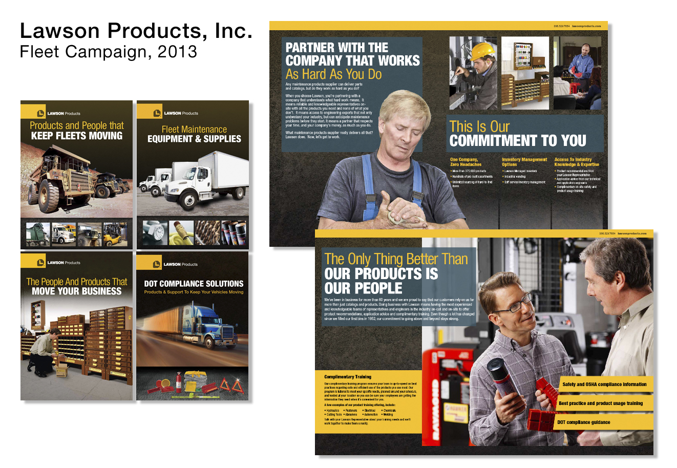 Fleet Launch Customer Campaign Brochures