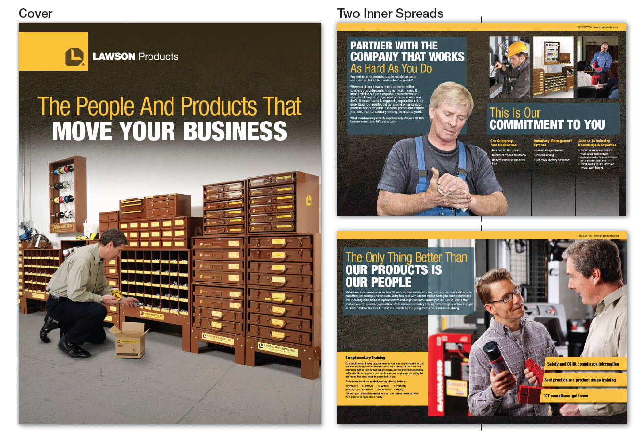 Lawson Products Corporate Brochure Layout
