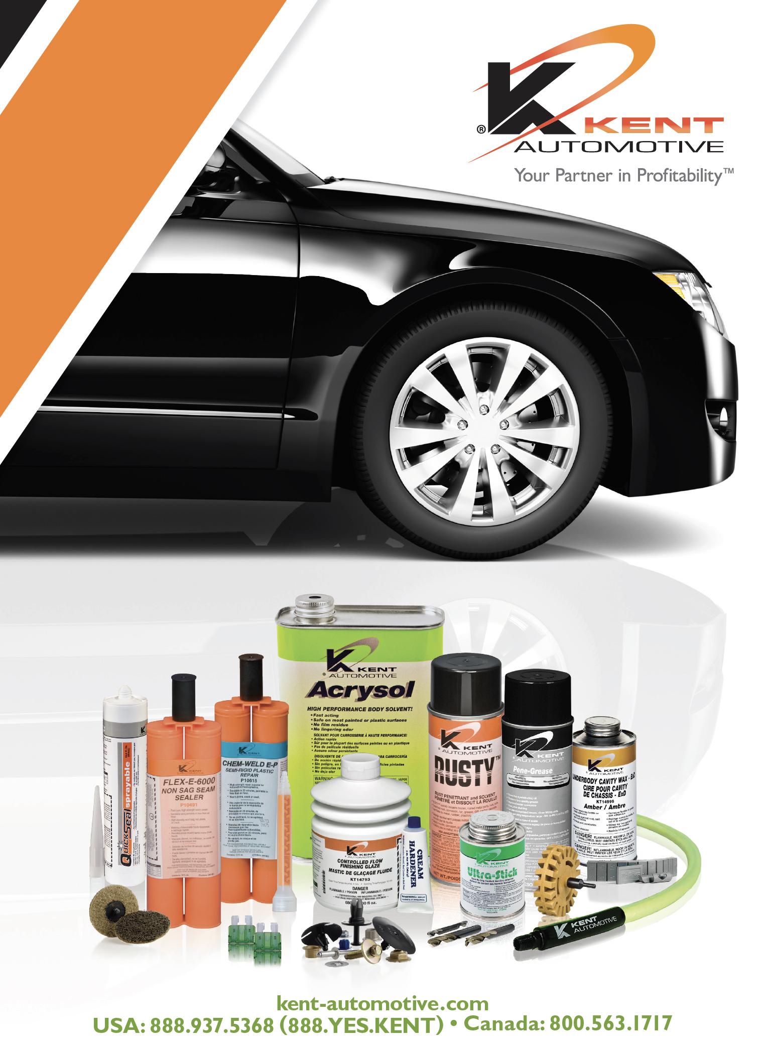 Kent Automotive Catalog Cover