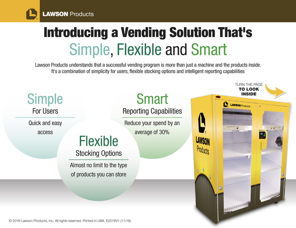 Lawson Products Industrial Vending Flyer