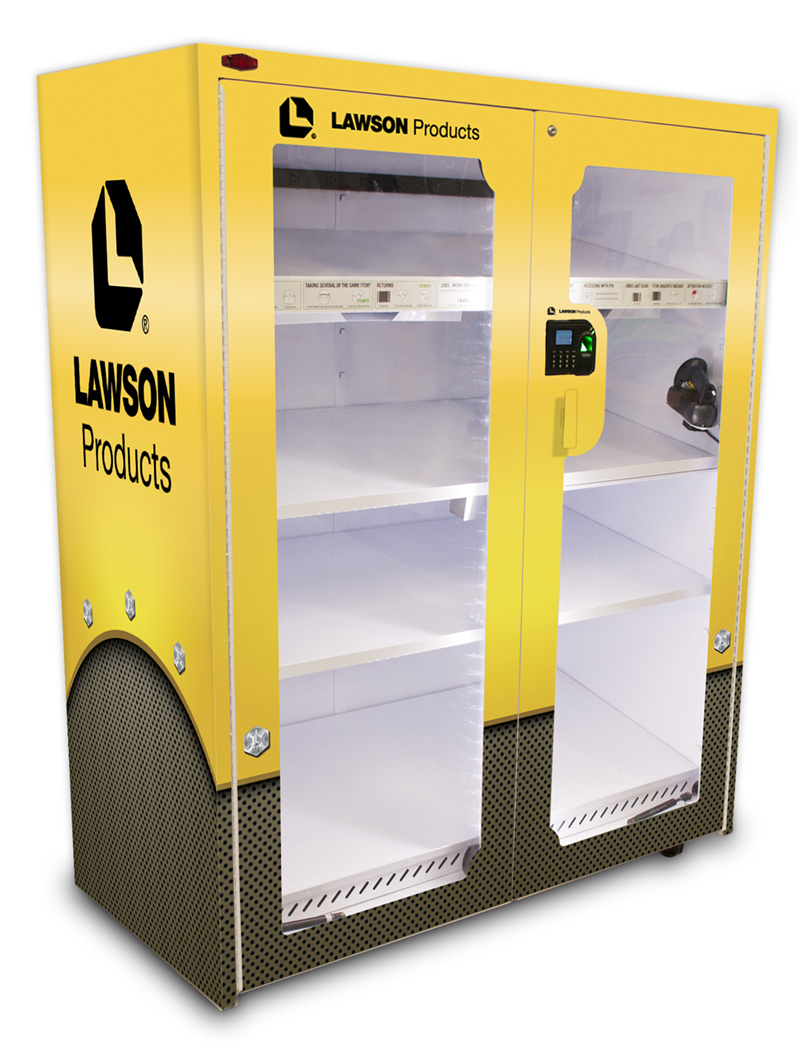 Lawson Products Industrial Vending Machine Decals