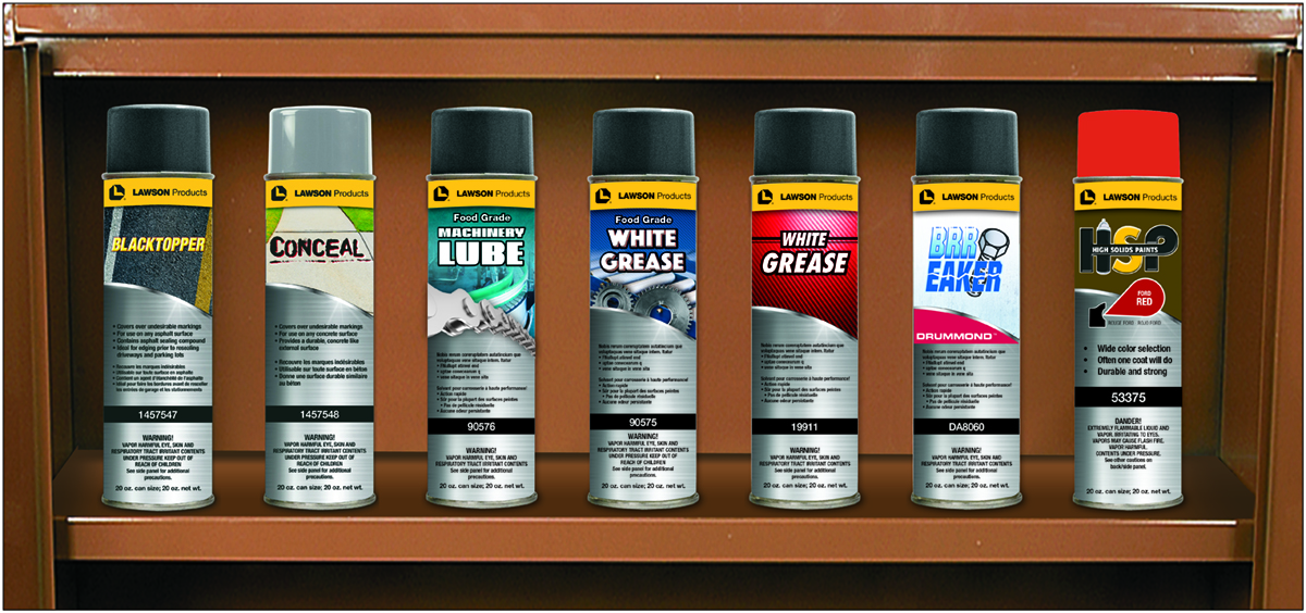 Lawson Products Chemical Label ReDesign