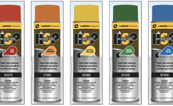 Lawson Products HSP High Solids Paints Packaging Design