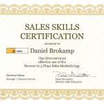 Sales Skills Certification