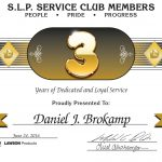 3 Year Service Award from Lawson Products
