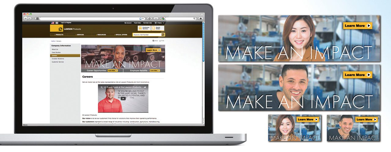 Make An Impact Banner Ad Campaign